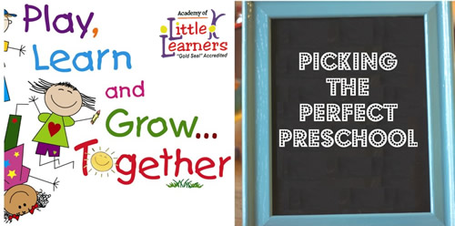 Picking the Perfect Preschool